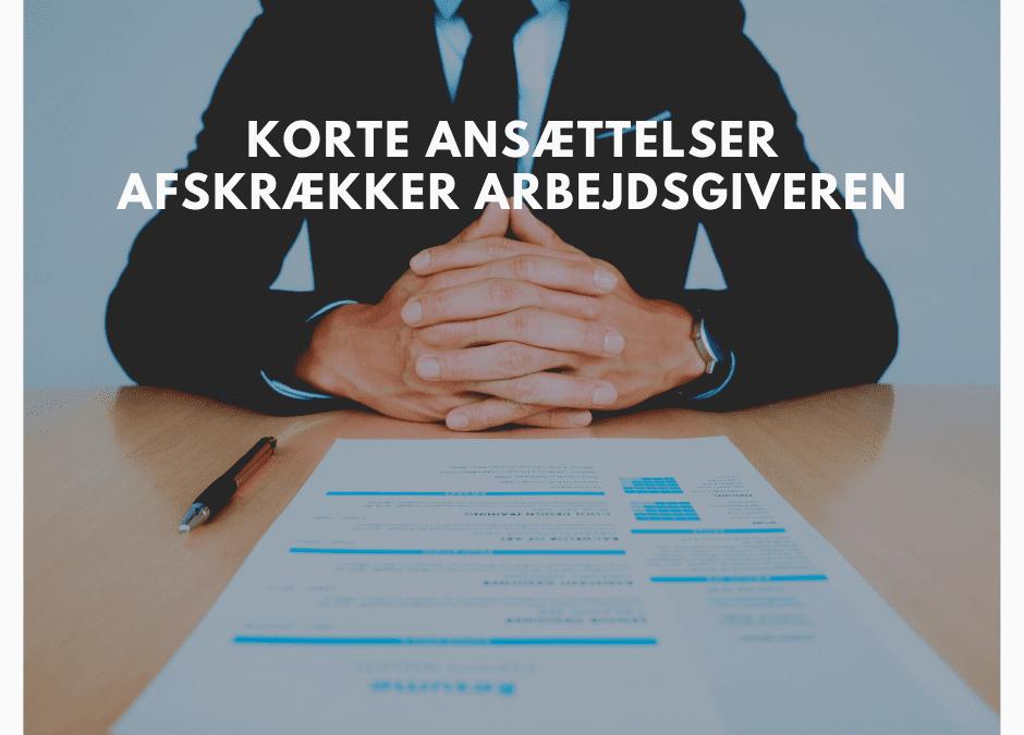 Korte ansættelser afskrækker arbejdsgiveren – lær at udnyt dine jobskift i CV'et